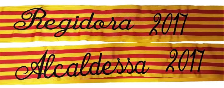 ALCALDESSA I REGIDORA 2017